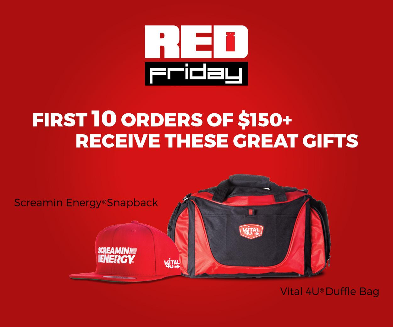 vital 4u red friday gift package
